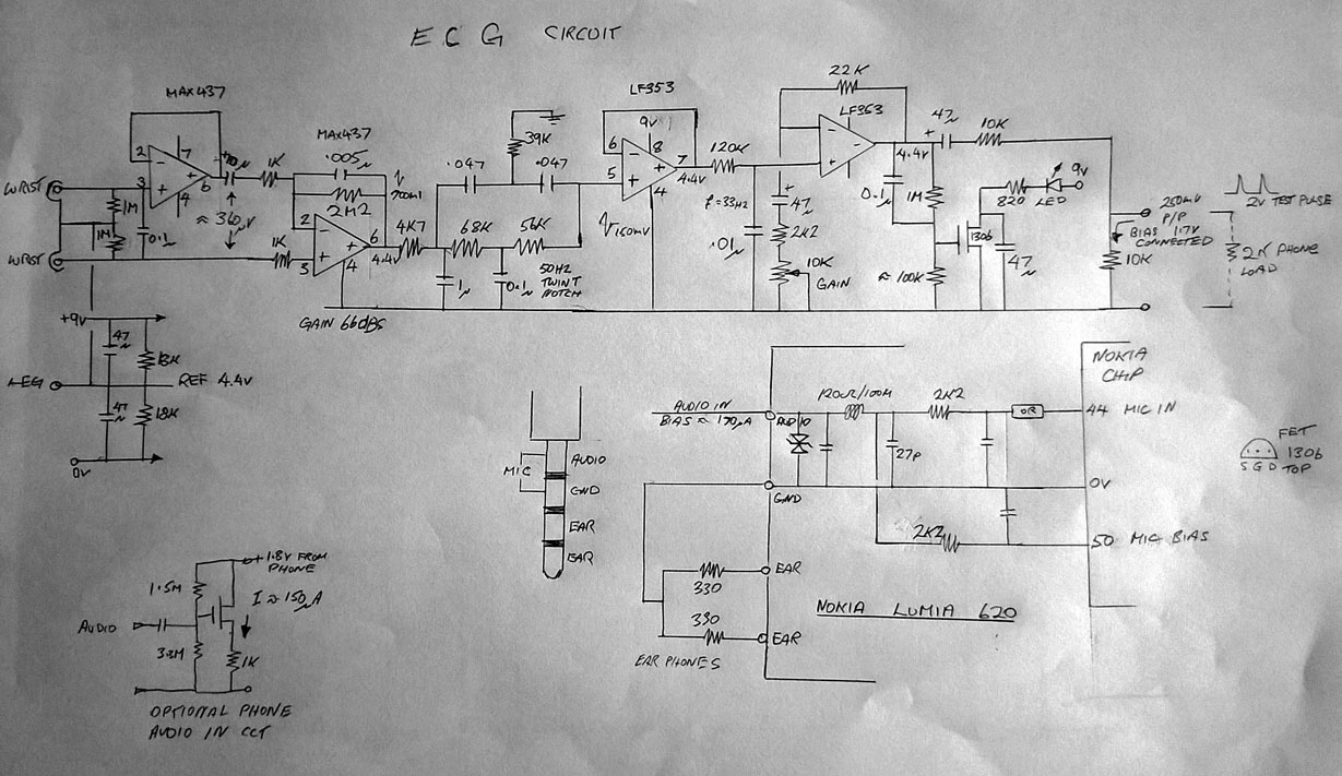Ir Switch Bias T Circuit Diagram Response Of Filters Including Twin Notch